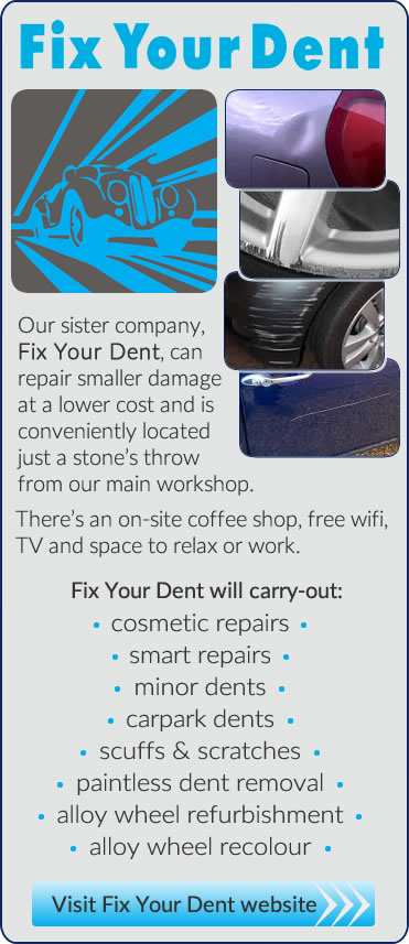 Fix Your Dent for small car accident repairs